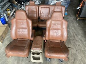 2007 Ford F 250 F350 King Ranch Leather Seats Seat Set 1999 2016 Oem Super Duty