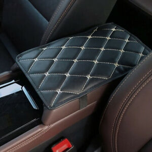 Universal Car Armrest Pad Cover Auto Center Console Box Leather Cushion Mat Pad