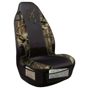 Browning Mossy Oak Camo Seat Cover Set Of 2