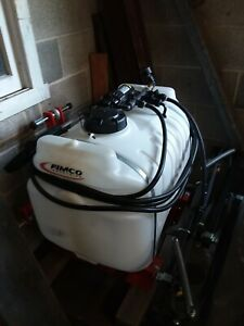 3 Point Hitch Sprayer 40 Gallon New Assembled Complete As Shown With Chemicals