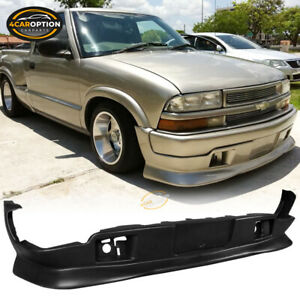 Fits 98 04 Chevy S10 Gmc Extreme Style Pu Front Bumper Lip Spoiler Bodykit
