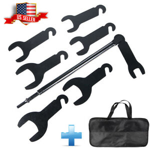 43300 Pneumatic Fan Clutch Wrench Set Removal Tool Kit For Ford Gm Chrysler New