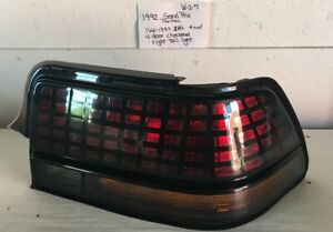 Used Vintage Pontiac Grand Prix 1992 Right Side Taillight drivers Quality