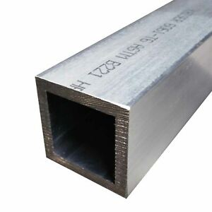 6061 t6 Aluminum Square Tube 1 X 1 X 1 8 Wall X 60 Long