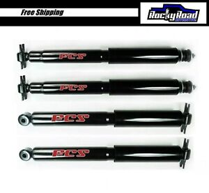 Front Rear Shocks For 1997 2006 Jeep Wrangler Tj Fcs