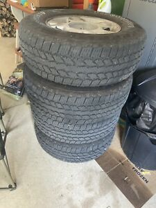 4 Set Of Almost New F150 Tires Size Is 265 70 17