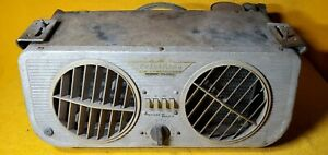 Vintage Frigiking Automotive Air Conditioner Under Dash Unit For Parts Only