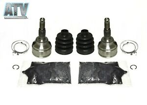 Pair of Front Outer CV Joint Kits: 4x4 Honda ATV Rancher/ Foreman/ FourTrax