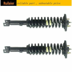Fit For 1999 2000 Plymouth Breeze Rear Pair Suspension Struts spring Assembly