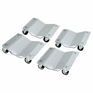 12 Inches Tire Premium Skates Wheel Car Dolly Ball Bearings Moving Easy Movers