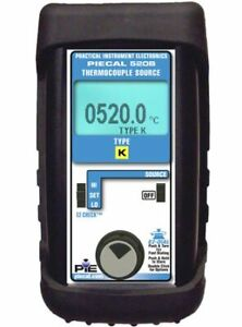Pie 520b r Thermocouple Calibrator Single Source For R Type Thermocouples