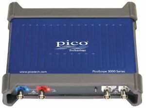 Pico 3203d Picoscope Pc Oscilloscope 2 Channels With Fg awg 50 Mh