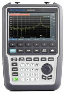 Rohde Schwarz Zph Handheld Cable And Antenna Analyzer