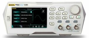 Rigol Dg821 25 Mhz Function Arbitrary Waveform Generator 1 Channel