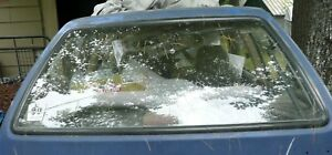 Ford Festiva Rear Hatch Window