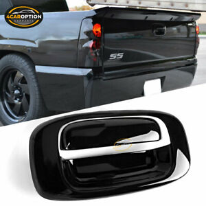 Fits 99 07 Chevy Silverado Gmc Sierra Black Overlay Tail Gate Handle Cover