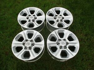17 Toyota 4runner Silver Factory Oem Alloy Wheels Rims 75153 2014 2020 Tacoma