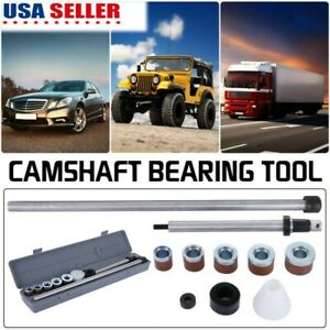 New U niversal Camshaft Bearing Tool Installation Removal Kit 1 125in 2 69in