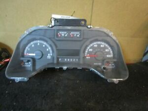 09 2009 Ford E350 Speedometer Instrument Cluster 158k Miles Oem 9c2t 10849 Cp