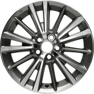 New Replacement 16 Alloy Wheel Rim For 2014 2015 2016 Toyota Corolla