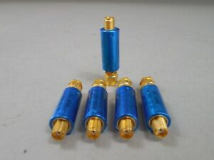 Lot Of 5 Mini Circuits Sat 4 Attenuator 50 Ohm 4db