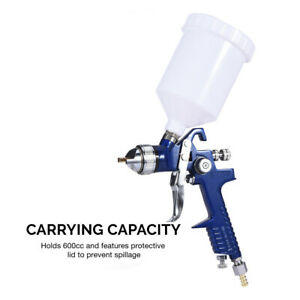 Hvlp Air Spray Gun Gravity Feed 1 4mm Nozzle Auto Body 1 4 In 18 Nps 20 70psi