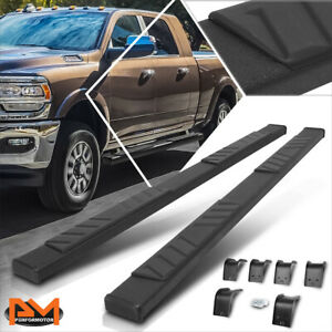 For 09 20 Dodge Ram 1500 3500 Crew Cab 5 Pad Side Step Nerf Bar Running Boards