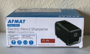 Electric Pencil Sharpener Heavy Duty Afmat For Classroom Home