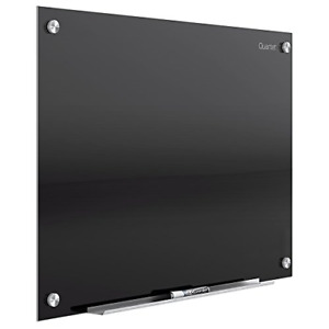 Glass Whiteboard Magnetic Dry Erase White Board 3 X 2 Black Surface Infinity