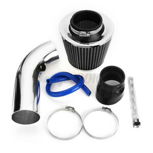 3 Car Truck Cold Air Intake Filter Induction Kit Pipe Hose System Universal Us