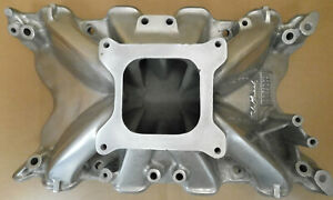 Edelbrock Early 2760 Torker Intake Ford 351c 4v Single Plane 4150 Flange