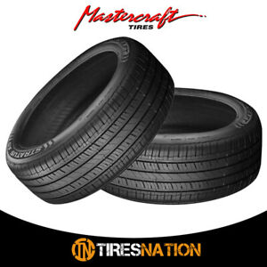2 New Mastercraft Stratus As 205 55r16xl 94h Tires