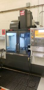 2015 Haas Vf2 Mill Only 650 Cut Hours In Excellent Condition