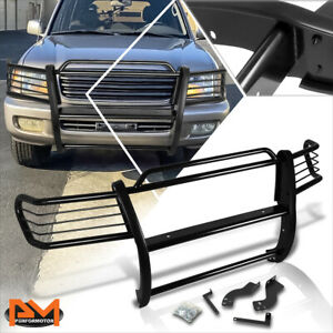 For 98 07 Land Cruiser J100 Suv Bumper Brush Grill Guard Protector Coated Black