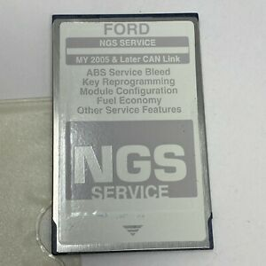 Ford Hickok Ngs Service Gray 2005 And Later Can Link Diagnostic Card Ver 2 0