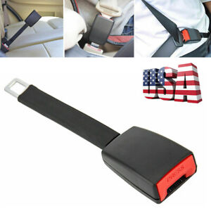 Car Seat Belt Extender 9 8 In Type B Safety Extension Buckle Us Seller