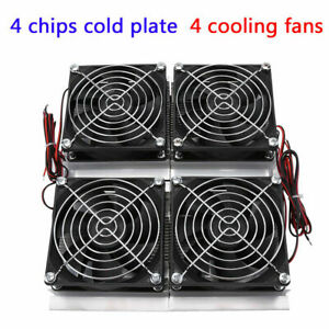 240w Semiconductor Refrigeration Thermoelectric Peltier Cold Plate Cooler Fan Zy