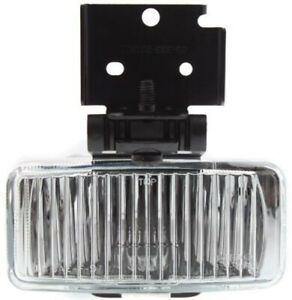 Driver Side Clear Lens Fog Light Assembly For 1997 1998 Jeep Grand Cherokee