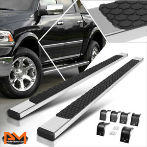 For 09 20 Dodge Ram 1500 3500 Crew Cab 5 Side Step Nerf Bar Running Board Chrome
