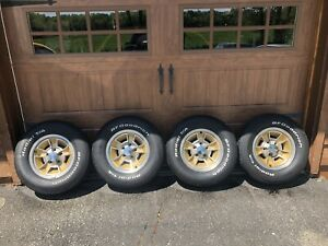 79 1979 Hurst Olds 442 Wheel And Tire Set local Pickup Only