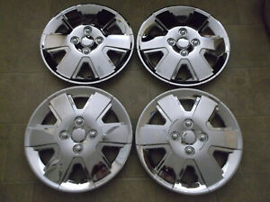 15 Toyota Camry Corolla Chrome Am Hub Cap Wheel Cover Hubcaps 2002 2007 Set 4