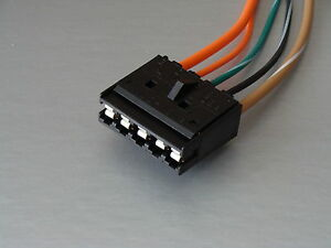 85 89 Tpi Camaro Corvette Firebird Fuel Pump Relay Wiring Harness Connector
