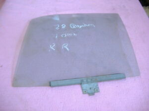 Vw Quantum Door Window Right Rear 86 88 Yr 343