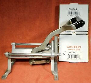 Nemco 55450 2 Commercial French Fry Cutter used Spare Blades 1 4