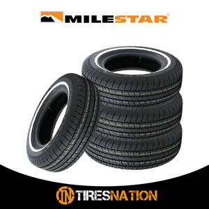 4 New Milestar Ms775 Touring 215 75r15 100 S Tire