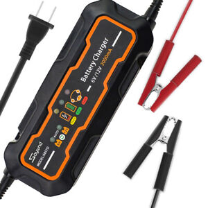 3000ma Automotive Trickle Battery Charger Maintainer For Car Motorcycle 6v