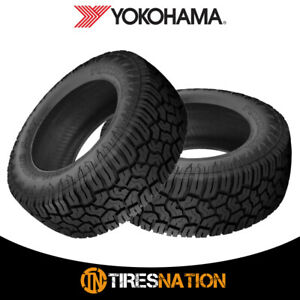 2 New Yokohama Geolander X at Lt265 70r17 121 118q E Tires