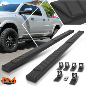 For 09 20 Ram 1500 3500 Truck Crew Cab 5 Side Step Nerf Bar Flat Running Boards