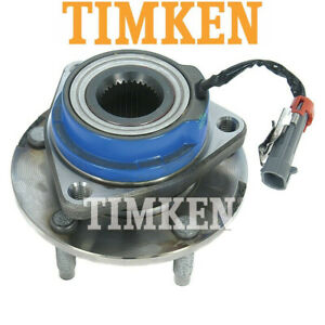 Timken 512153 Rear Wheel Bearing And Hub Assembly For Chevrolt Cadillac W Abs