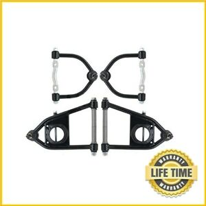 Manual mustang Ii Ford Pinto Suspension Upper Lower Tubular Control Arms Set